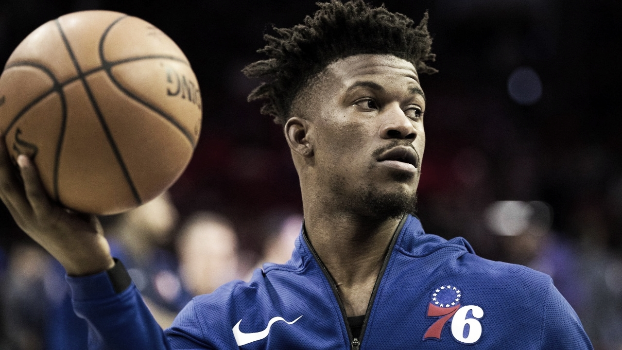 Jimmy Butler deixa 76ers e assina com o Miami Heat
