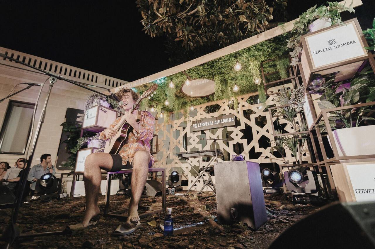 La noche mágica en el MARQ de Alicante con Guitarricadelafuente en los 'Momentos Alhambra'
