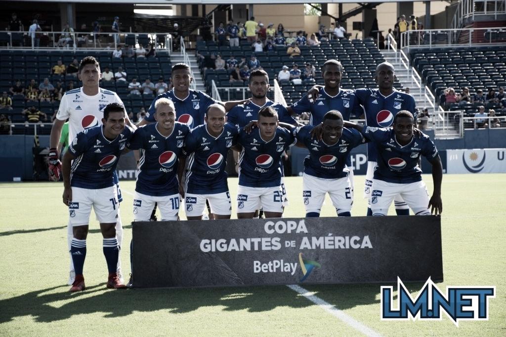 Peñarol vs Millonarios, los uruguayos se quedaron con la victoria del amistoso internacional
