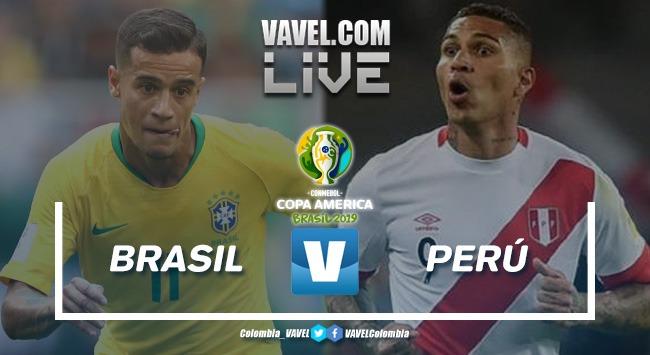 Resumen Brasil vs Perú, final de la Copa América 2019 (3-1)