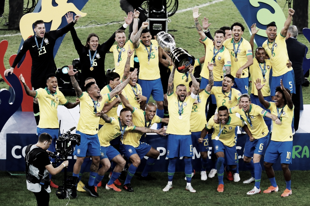 Brasil hizo respetar su casa y venció a Perú en la final de la Copa América
