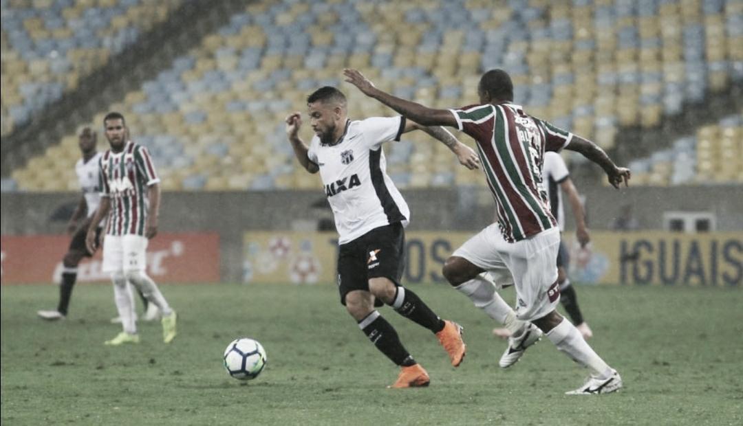 Desfalcados, Fluminense e Ceará fecham retomada do Brasileirão no Maracanã