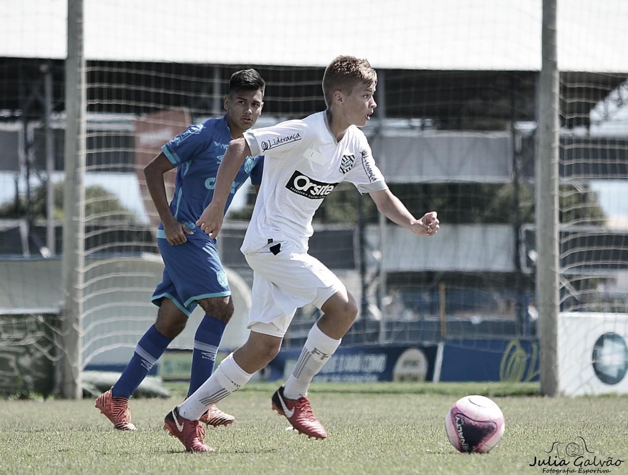 Josué, do Figueirense, destaca importância da pausa para a sequência do Estadual sub-17