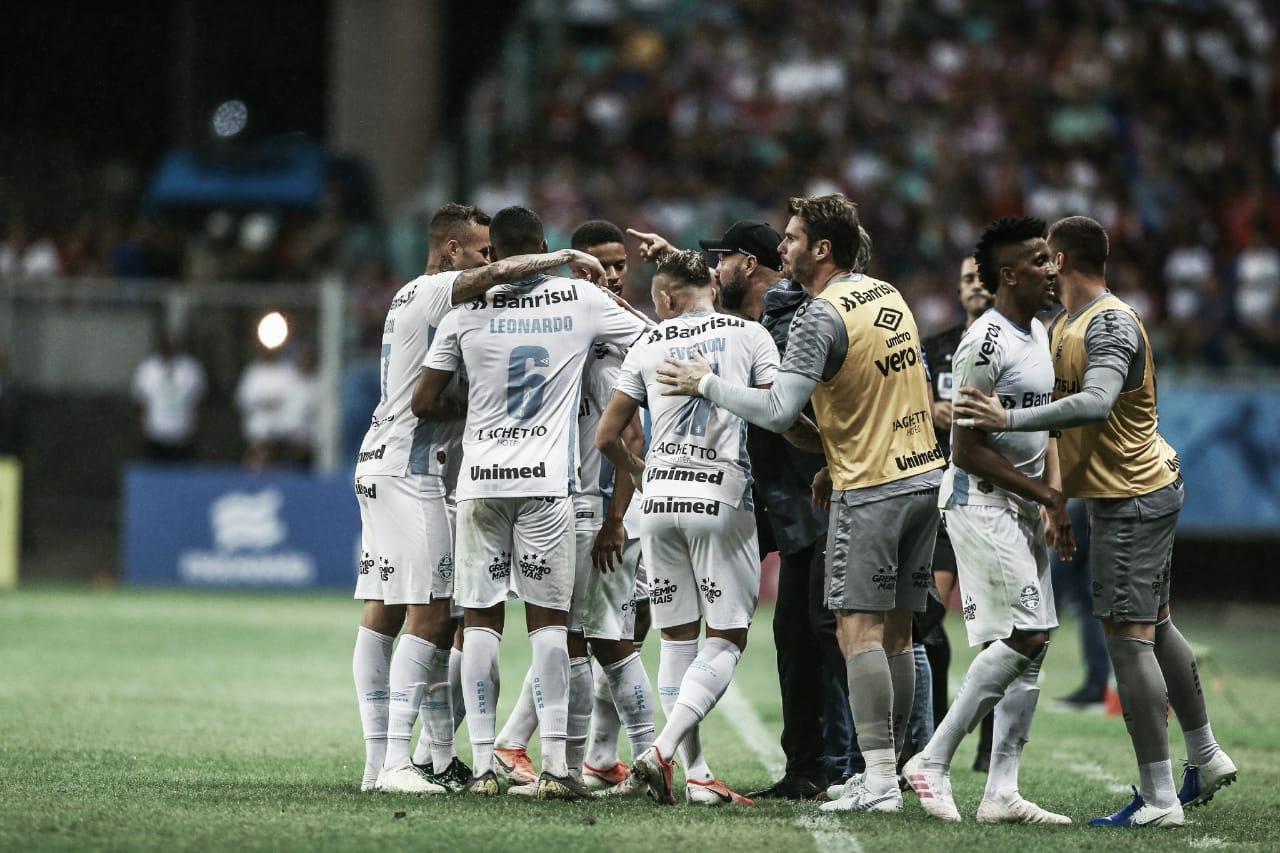 Com gol de Alisson, Grêmio bate Bahia e avança na Copa do Brasil