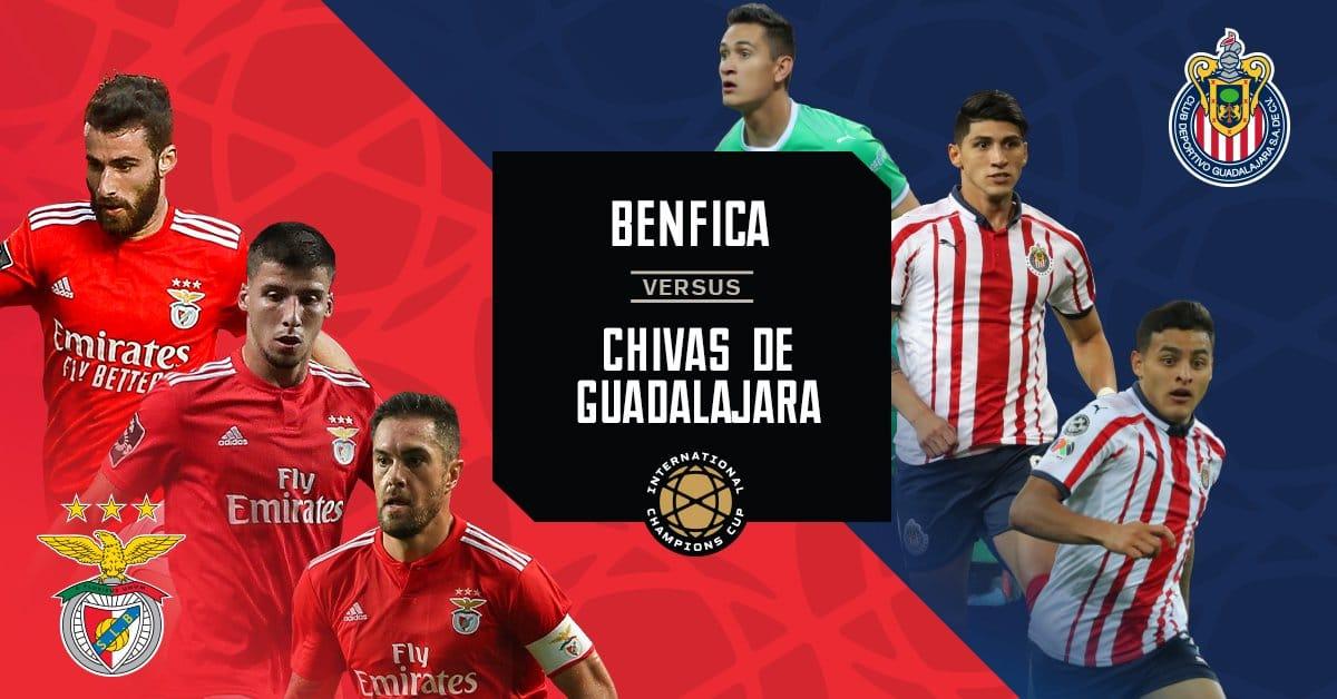 Previa Benfica vs Chivas: Duelo rojo en Santa Clara