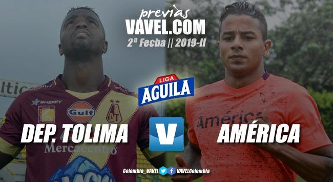 Previa Deportes Tolima vs América de Cali: Partido de 6 puntos por la reclasificación.