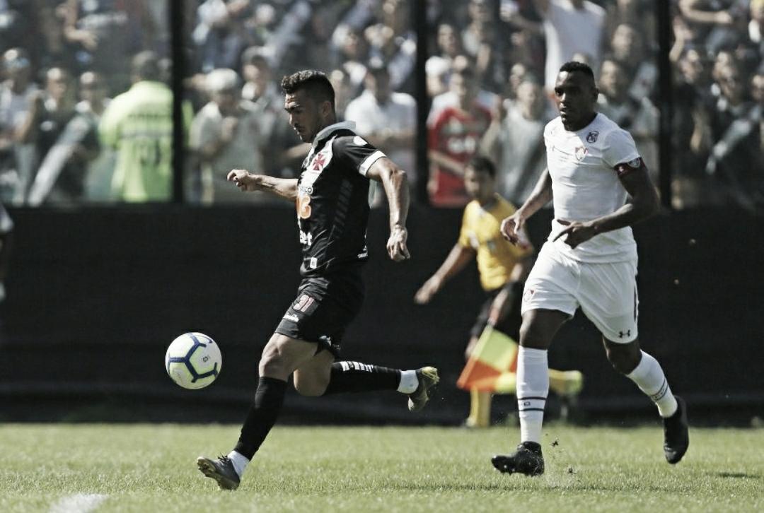 Vasco aproveita duas expulsões no Fluminense e vence clássico carioca de virada