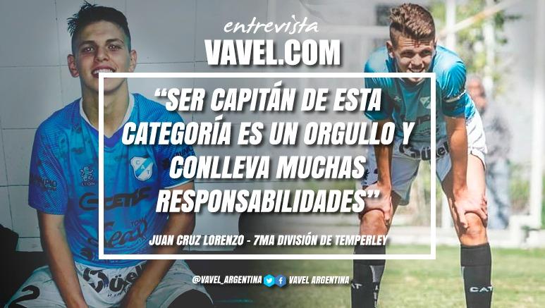 """Entrevista. Juan Cruz Lorenzo: """"Este plantel tiene para mí los 3 pilares que necesita un equipo de fútbol, sacrificio, humildad y compañerismo"""""""
