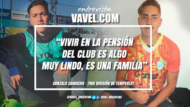 """Entrevista. Gonzalo Camacho: """"Es difícil estar lejos de tu familia, pero es algo que soñé desde muy chico"""""""