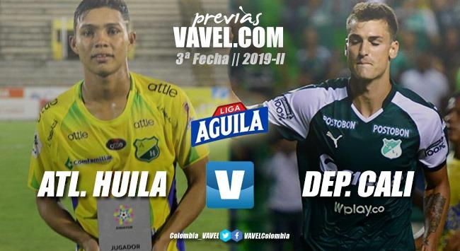 Previa Atlético Huila vs Deportivo Cali: El 'azucarero' busca afianzarse en el liderato
