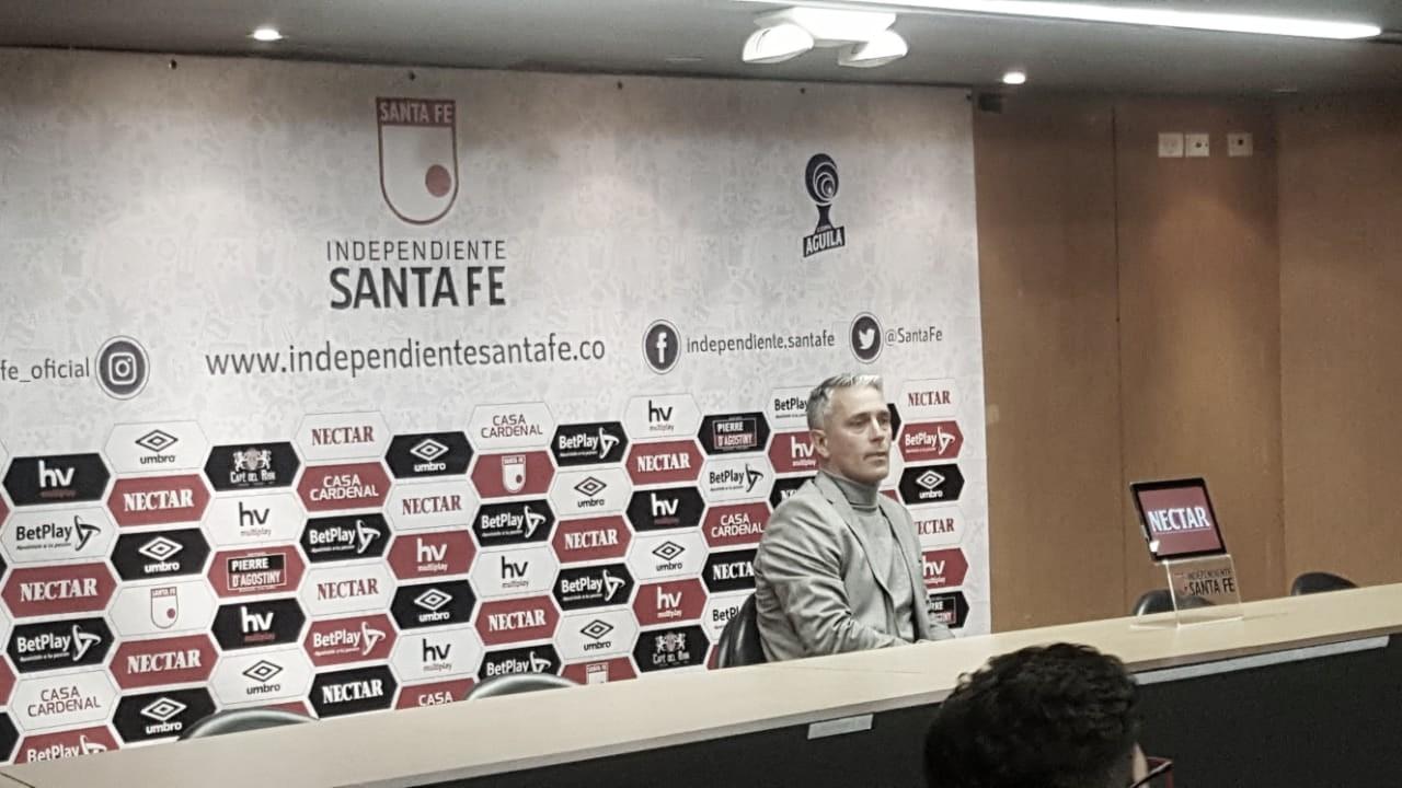 """Patricio Camps: """"Soy empleado de Santa Fe y seguiré trabajando"""""""