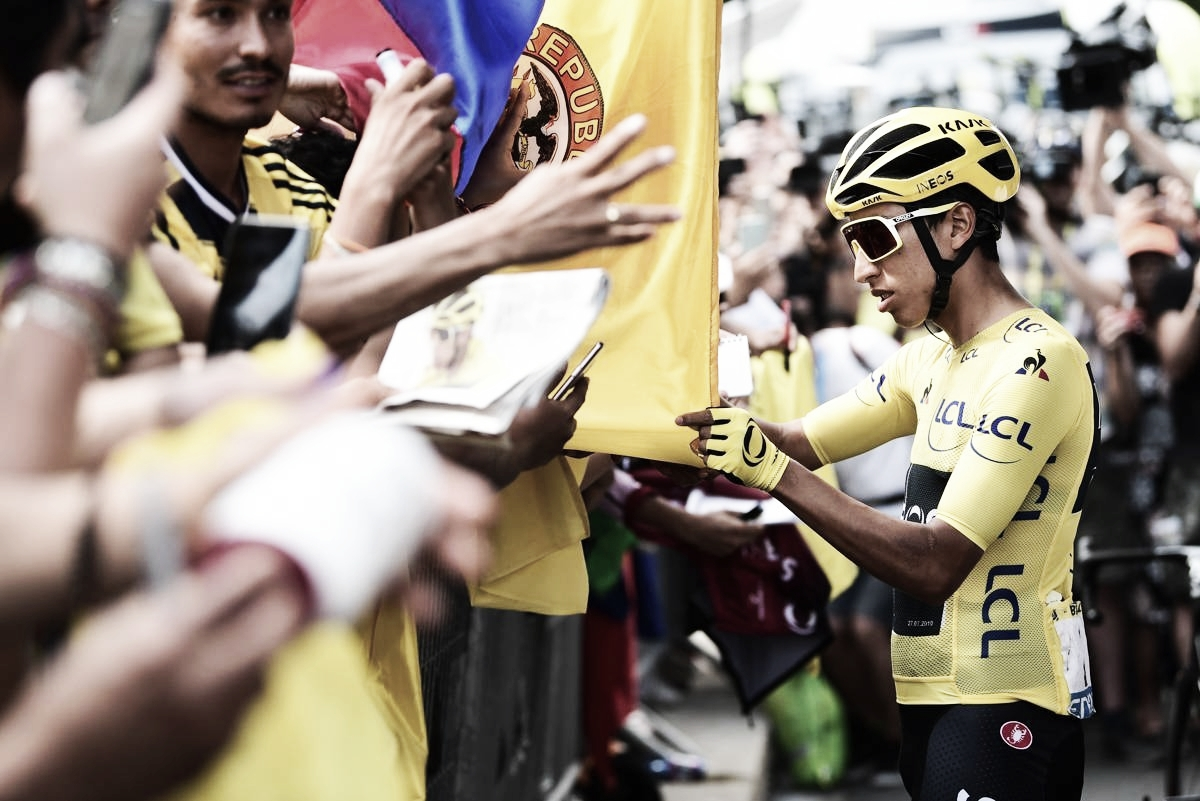 "Egan Bernal: ""Estoy orgulloso de ser el primero en ganar el Tour"""