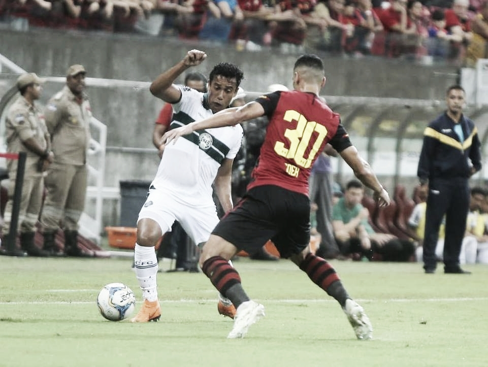 Sport empata com Coritiba e aumenta jejum de vitórias em casa na Série B