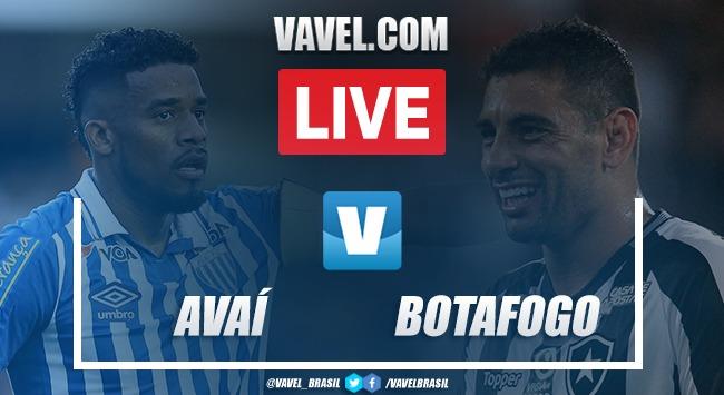 Avaí x Botafogo AO VIVO hoje pelo Campeonato Brasileiro (0x2)