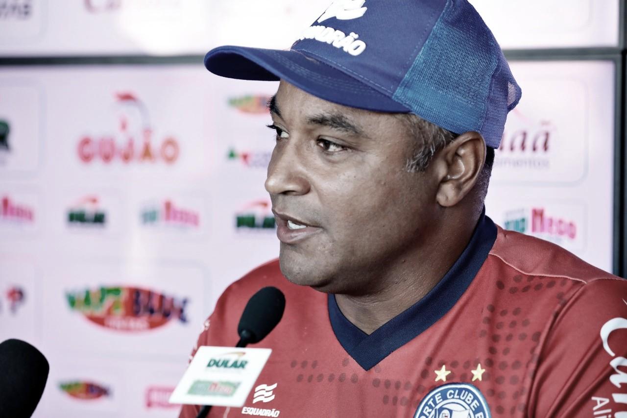 Roger Machado exalta defesa do Ceará e minimiza preocupação no Bahia quanto ao Campeonato Brasileiro