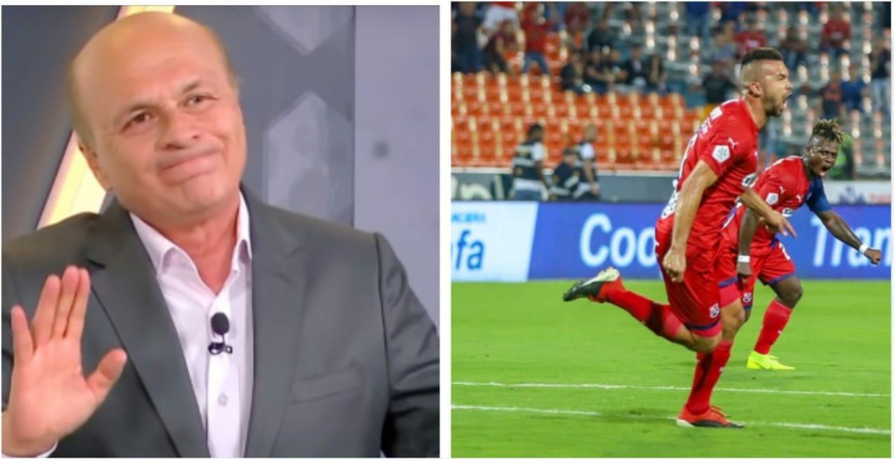Andrés Cadavid habló sobre su celebración ante Millonarios