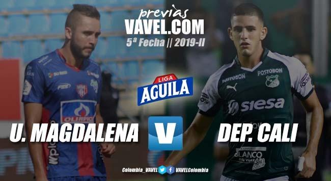 Previa Unión Magdalena vs Deportivo Cali: la visita quiere el liderato en el Sierra Nevada