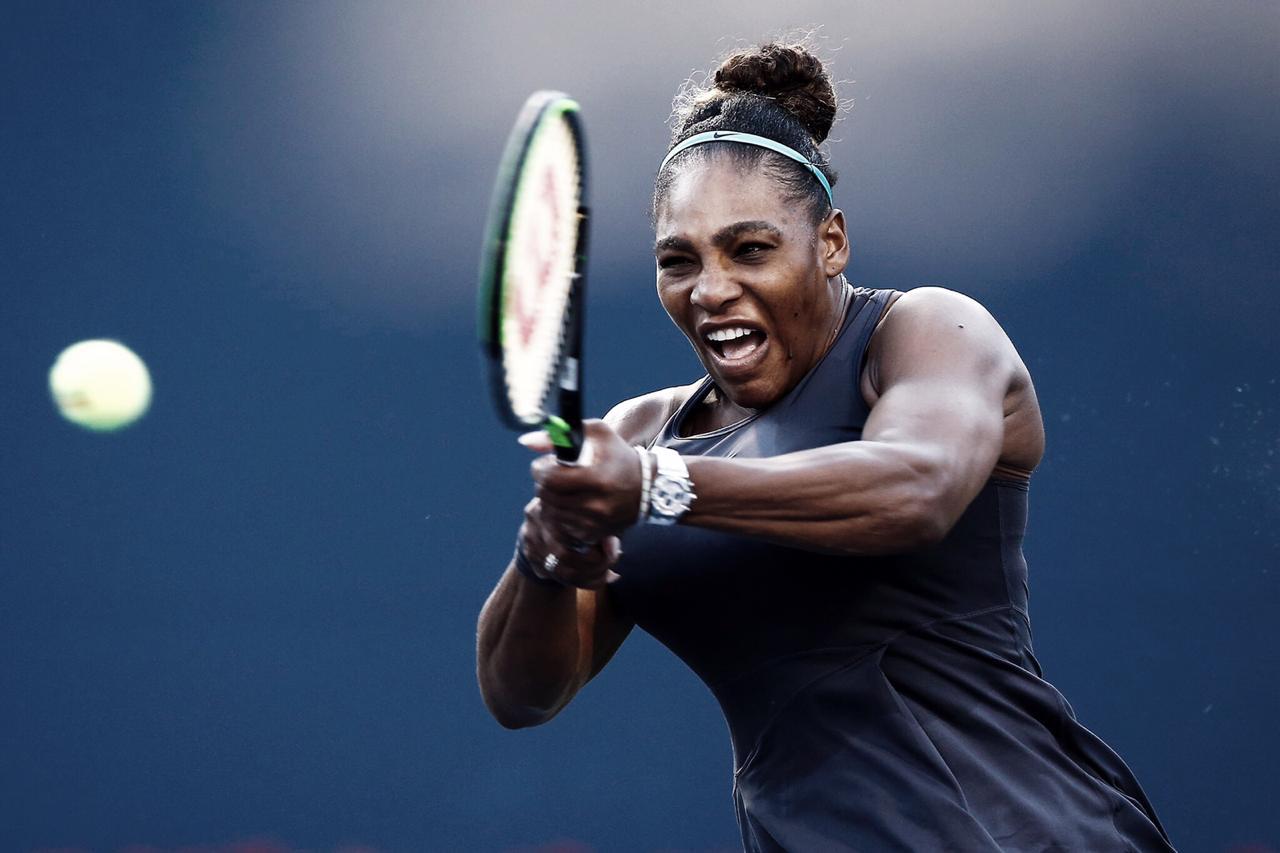 Serena Williams sofre, mas vira sobre Bouzkova e está final de Toronto
