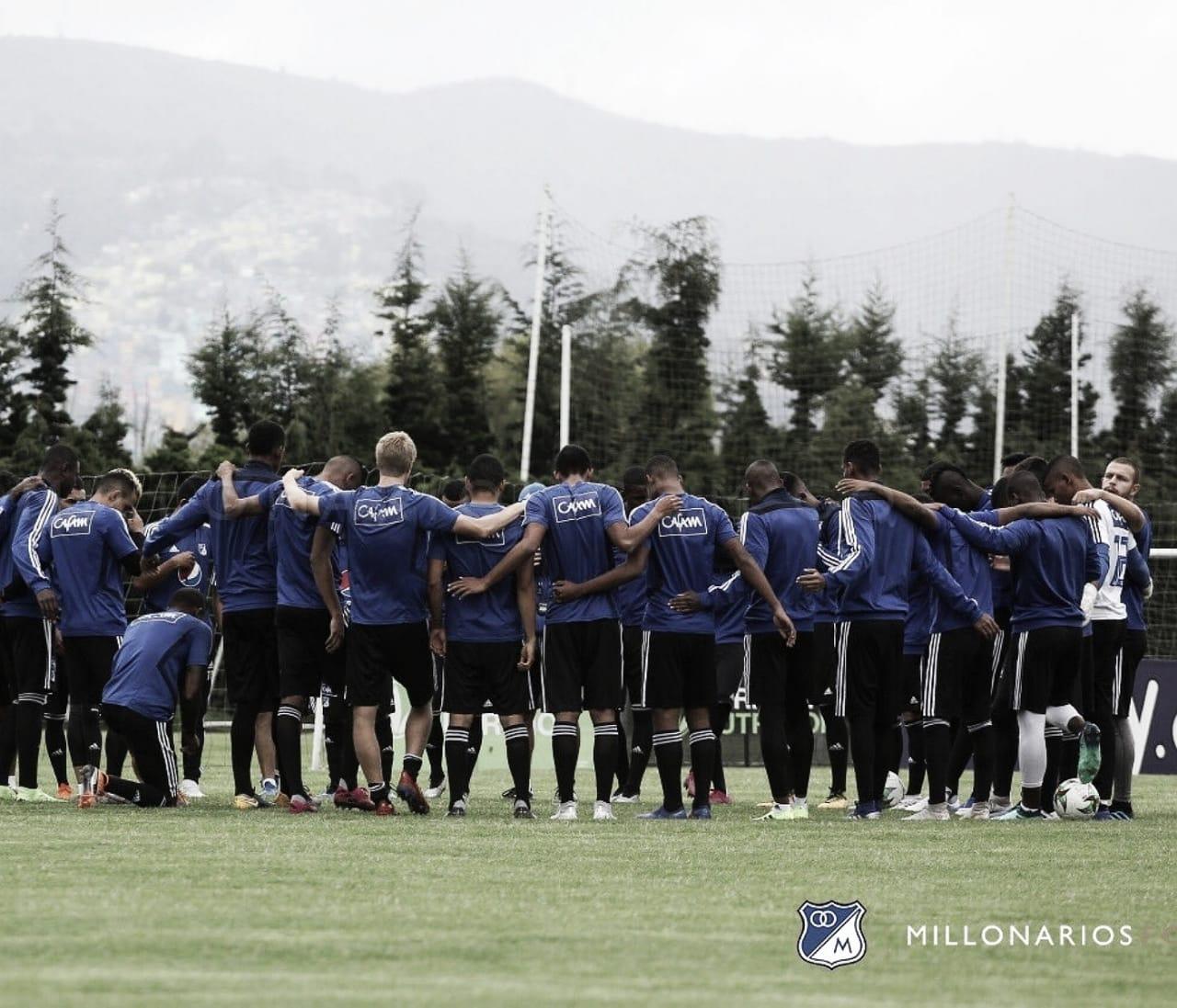 Convocados de Millonarios para enfrentar al Atlético Huila