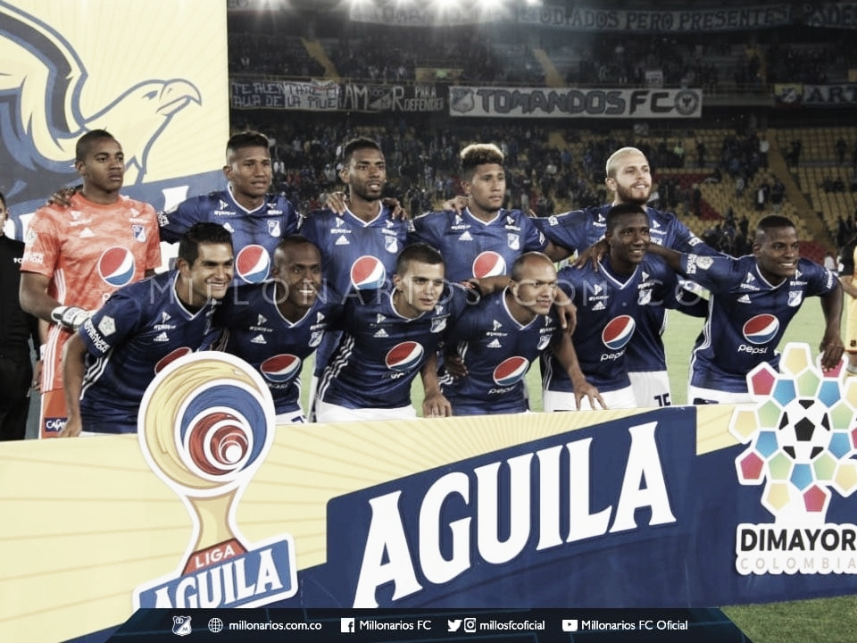 Puntuaciones jugadores Millonarios vs Medellín