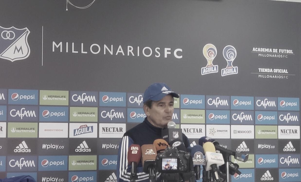 "Jorge Luis Pinto: ""Esta semana no ha sido fácil, pero seguimos adelante"""