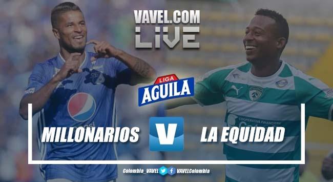 Resumen Millonarios vs. Equidad (3-2) por la Liga Aguila 2019-II