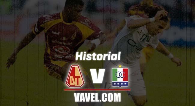 Historial Deportes Tolima vs. Once Caldas: un enfrentamiento parejo
