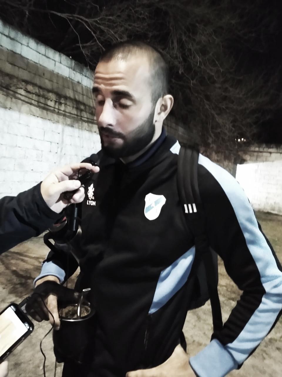 """Mauro Guevgeozián: """"El partido no se dio como lo esperábamos. No lo supimos revertir"""""""