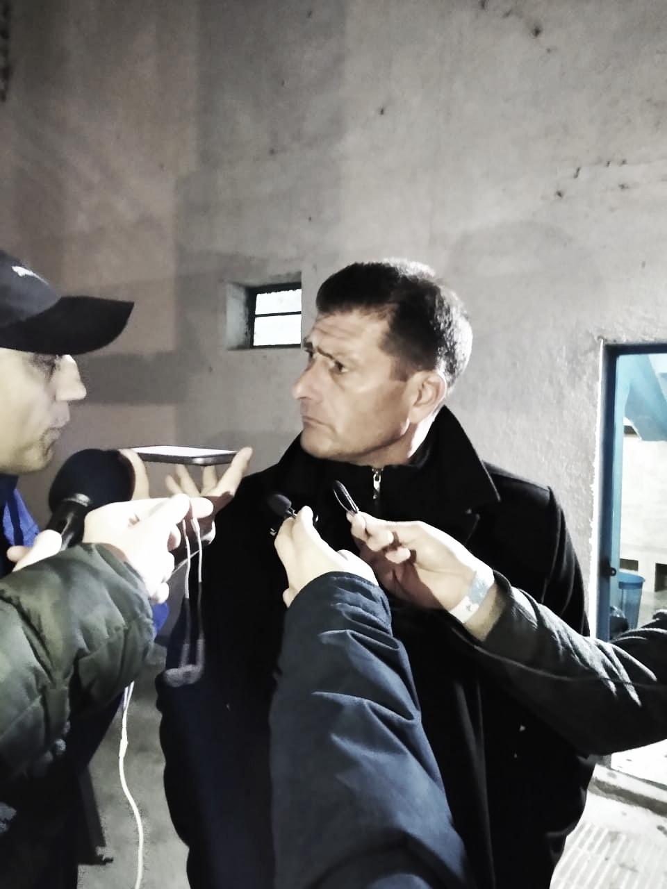 """Cristian Aldirico: """"Nos faltó fortaleza para poder obtener el resultado."""""""