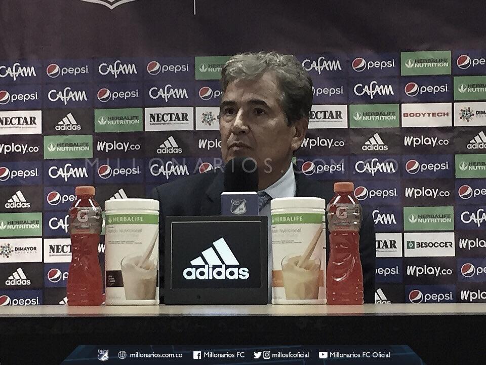"""Jorge Luis Pinto: """"Nos sigue faltando madurez y experiencia en el manejo del partido"""""""