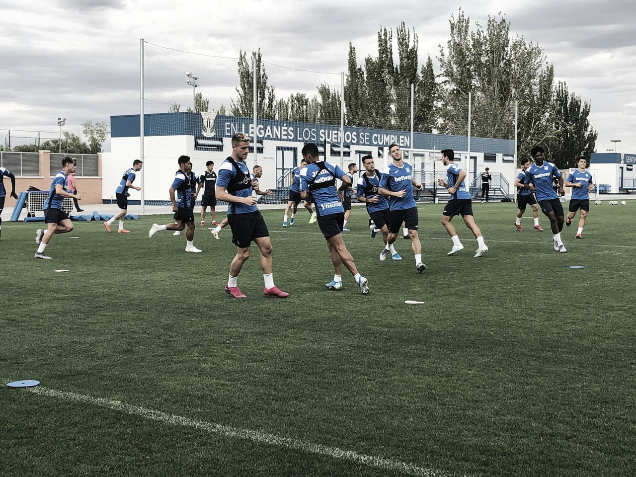 El Leganés ya ha hecho público el plan de entrenamientos de esta semana