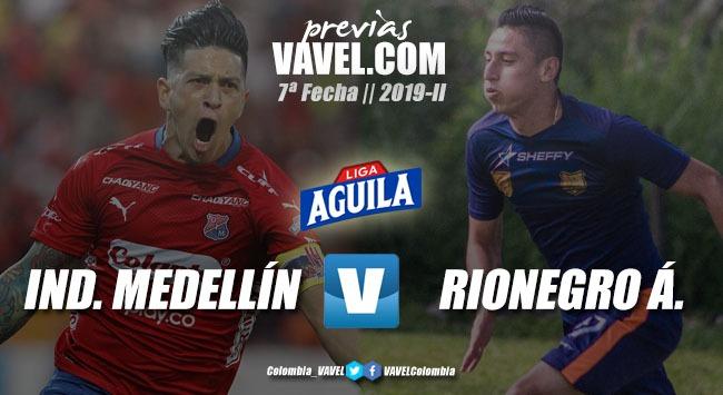 Previa: Independiente Medellín vs Rionegro Águilas: dos equipos en busca del triunfo