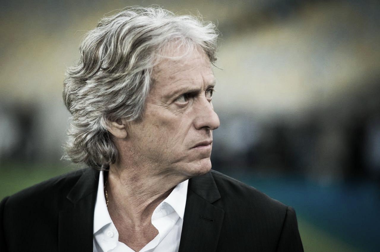 Satisfeito com a atuação do Flamengo, Jorge Jesus exalta elenco e elogia torcida