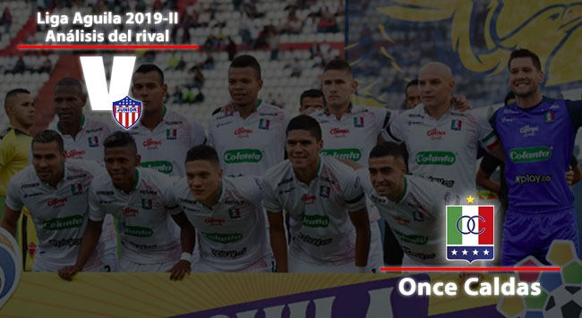 Junior de Barranquilla, análisis del rival: Once Caldas