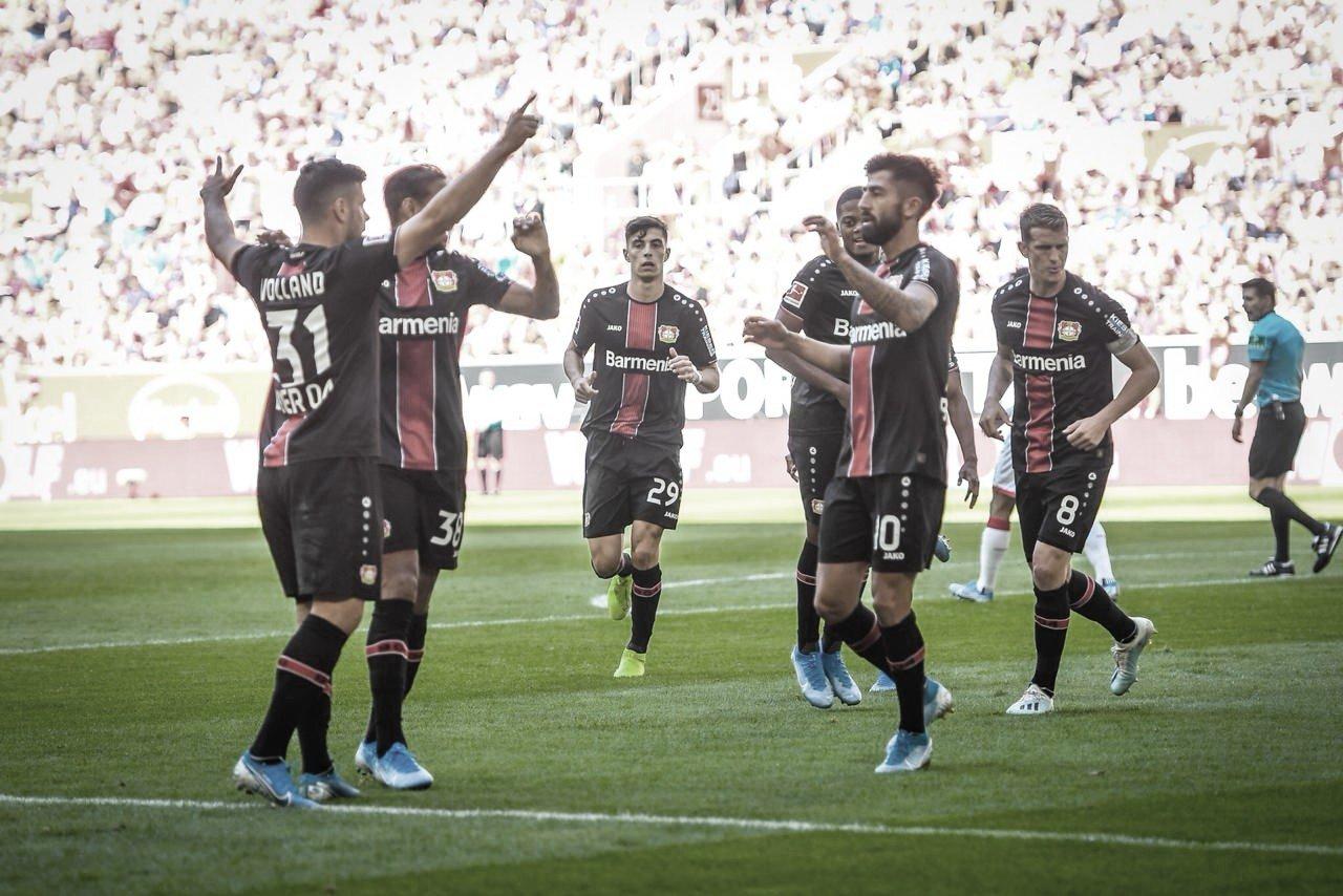 Leverkusencontrola Fortuna Dusseldorf, vence e mantém aproveitamento na Bundesliga