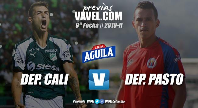 Previa Deportivo Cali vs Deportivo Pasto: el 'tricolor' quiere sorprender ante un Cali en alza