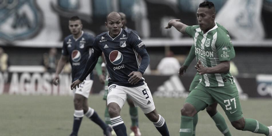 Juan David Pérez, jugador ´azul´ en el empate de la noche