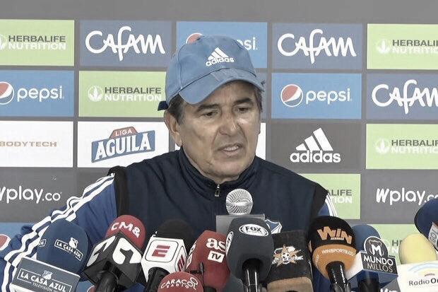 """Jorge Luis Pinto: """"Me voy contento, pero pienso que el triunfo se nos fue de las manos"""""""