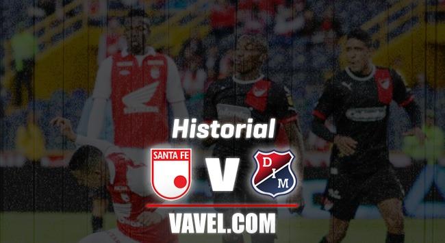 Historial entre Independiente Medellín y Santa Fe