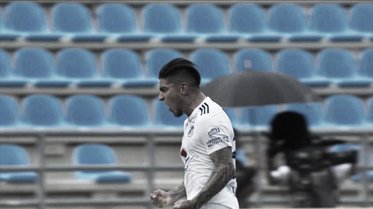 Cristian Arango, el mejor jugador del partido entre los 'Embajadores' y Unión Magdalena