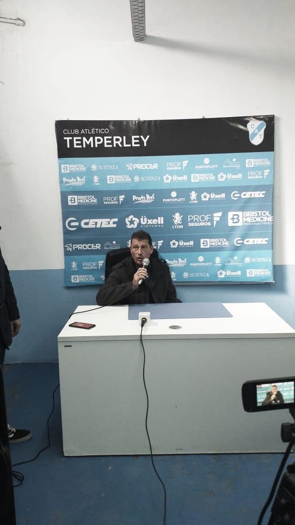 """Cristian Aldirico: """"Hay un problema grande, y tiene que ver con el campeonato"""""""