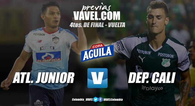 Previa: Atlético Junior vs. Deportivo Cali: se busca semifinalista