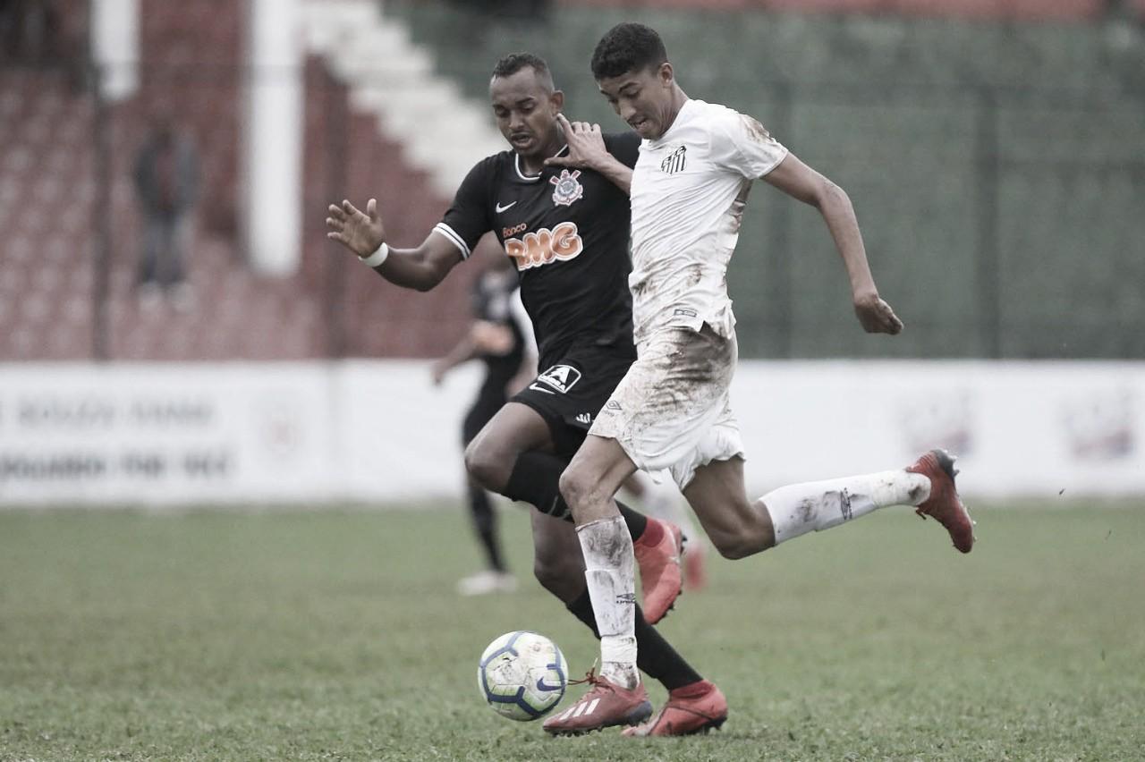 Bruno Marques pede foco para Santos ter o mesmo desempenho no Brasileiro e Paulista Sub-20