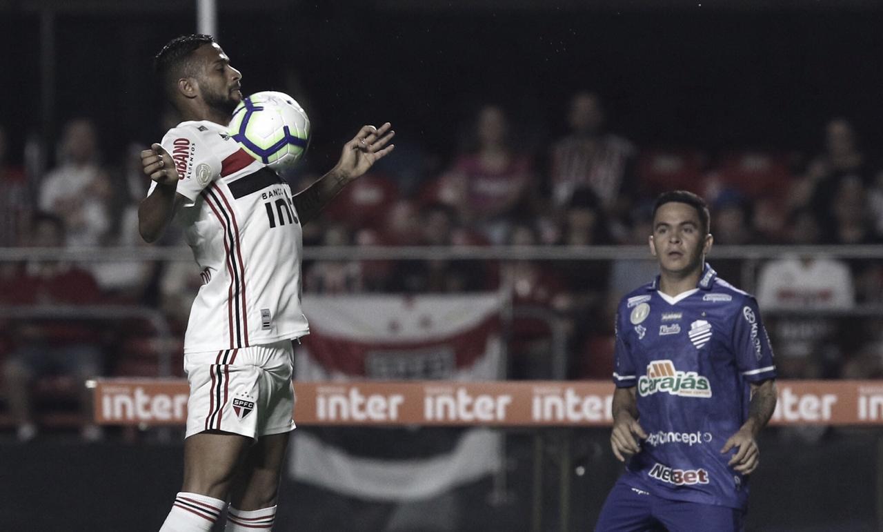 Com gol no final, São Paulo arranca empate diante do CSA no Morumbi