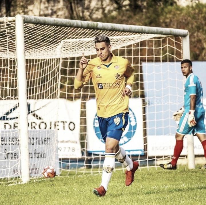 """Recém-contratado no Pelotas, Garraty comenta adaptação: """"É um time bom para jogar"""""""