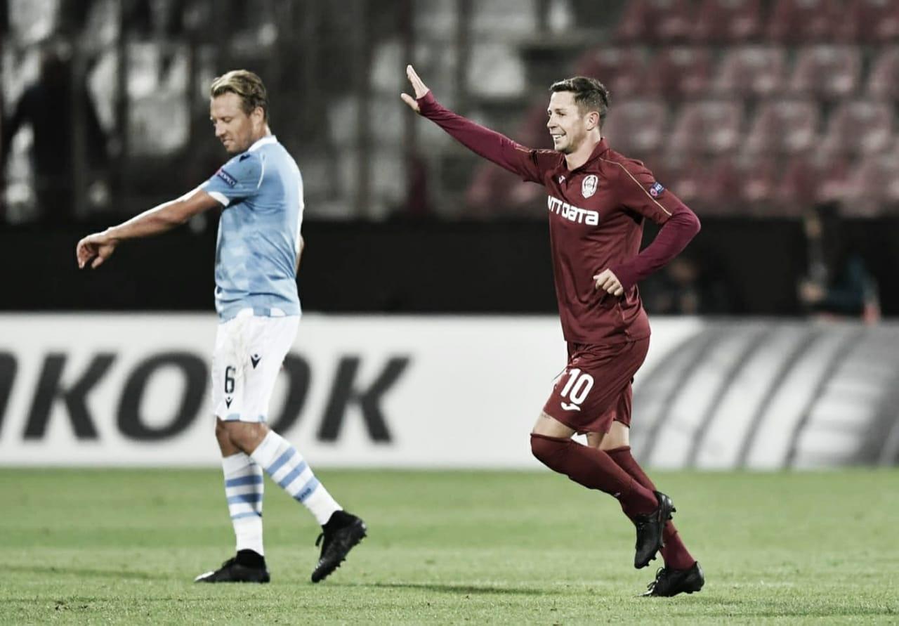 Na Romênia, Cluj estreia com vitória sobre a Lazio na fase de grupos da Europa League