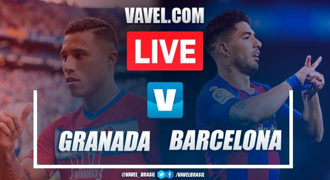 Granada vs Barcelona en vivo y en directo en Liga Santander 2019