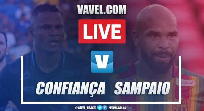 Gol e melhores momentos Sampaio Corrêa 1x0 Confiança pela Série C