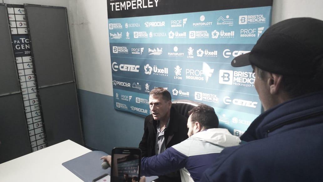 """Cristian Aldirico: """"Fue el mejor partido desde el inicio del torneo"""