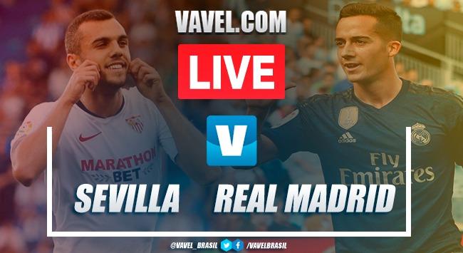 Assistir jogo Sevilla x Real Madrid AO VIVO online pelo Campeonato Espanhol 2019